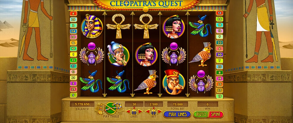 Free casino slot games cleopatra