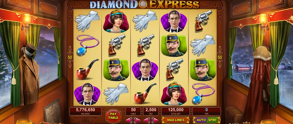diamond express free slots caesars casino