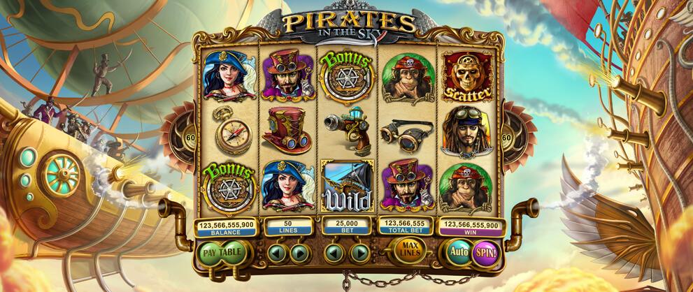 игровой слот pirates