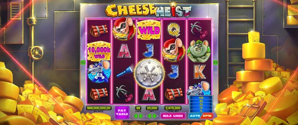 Cheese Heist Slots