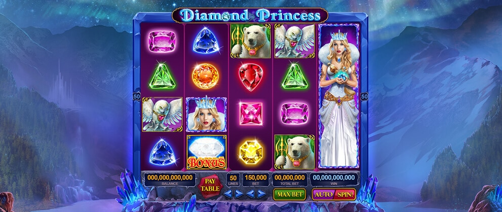 Diamonds Princess Slots