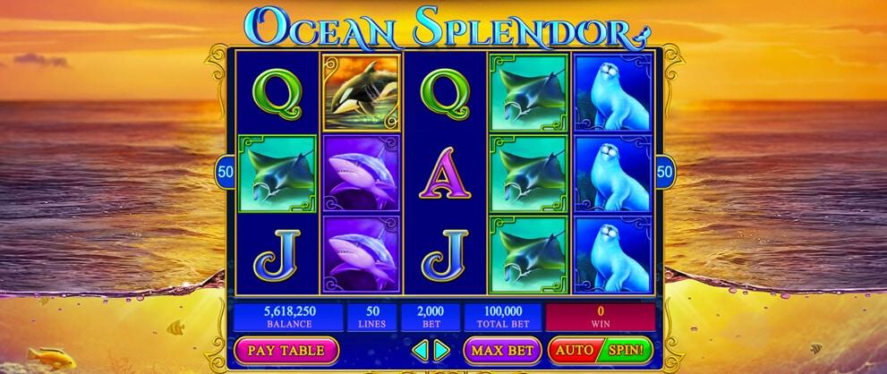 ocean splendor slots