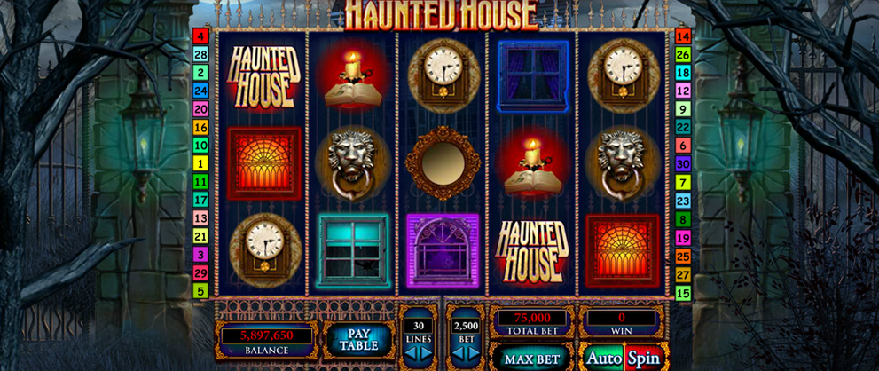 Haunted House™ Slot Machine Game to Play Free in Playtechs Online Casinos