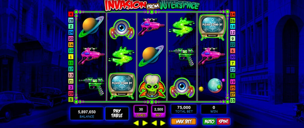 Invasion from outer space slot machine ff13-2 serendipity slot machine tips