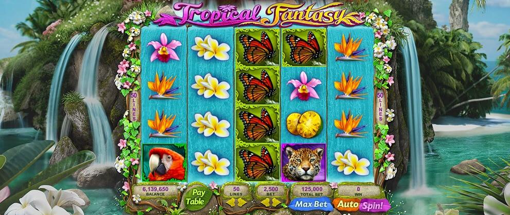 tropical Fantasy free slot machine caesars casino