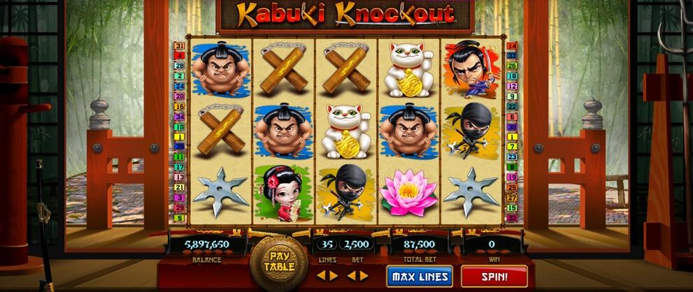 kabuki knockout free slots caesars casino
