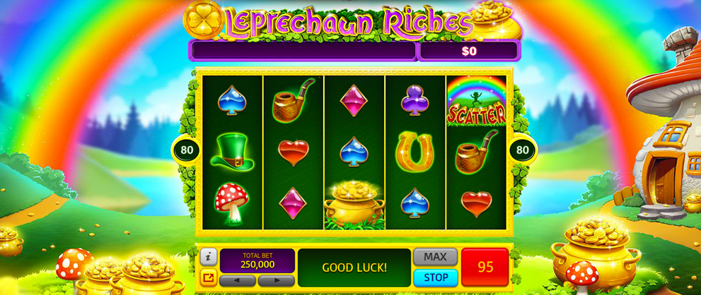 Leprechaun's Treasure Slots - Play it Now for Free