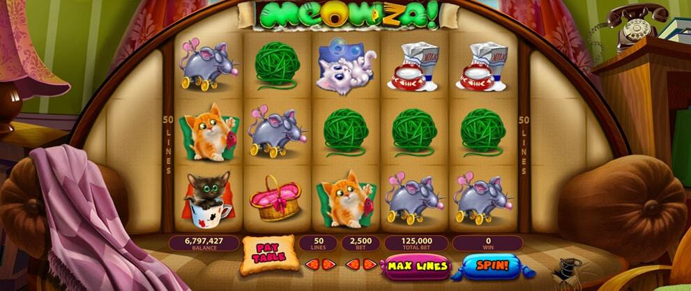 classic meowza free cat slots caesars casino