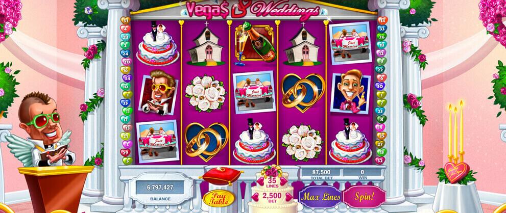 vegas weddings classic slot game caesars casino