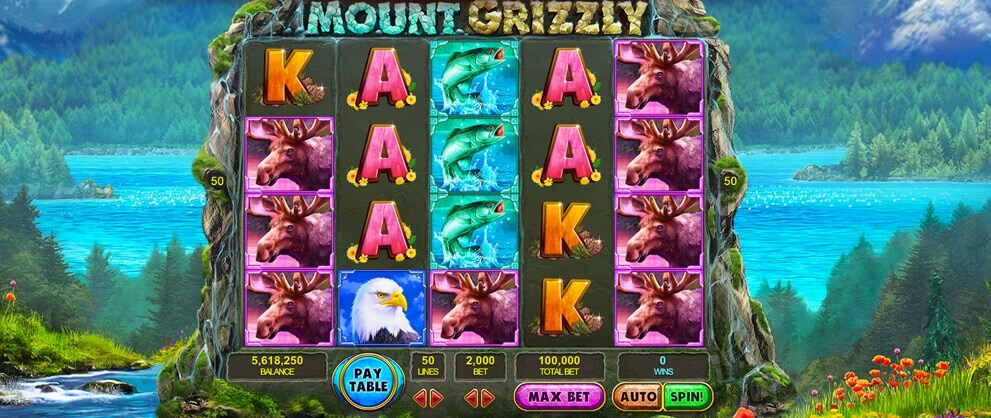 mounty grizzly free slots caesars casino
