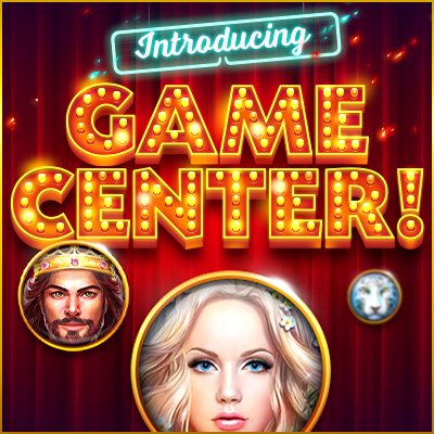 introducing game center caesars casino