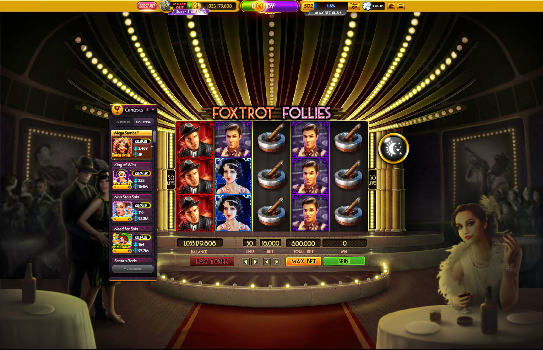 best odds in casino slot machines