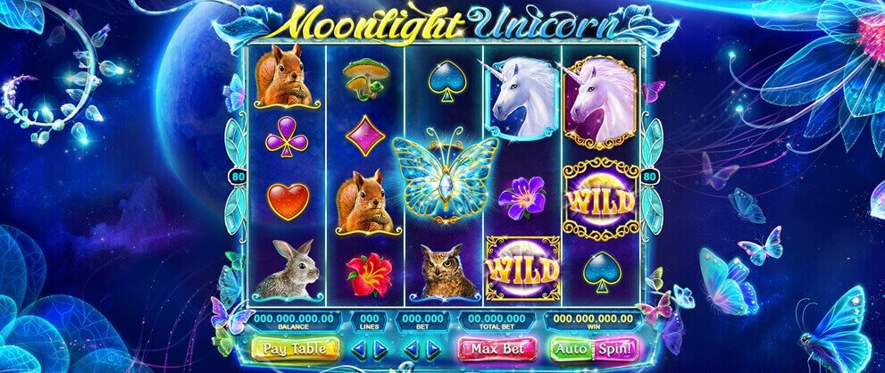 moonlight unicorn slot game
