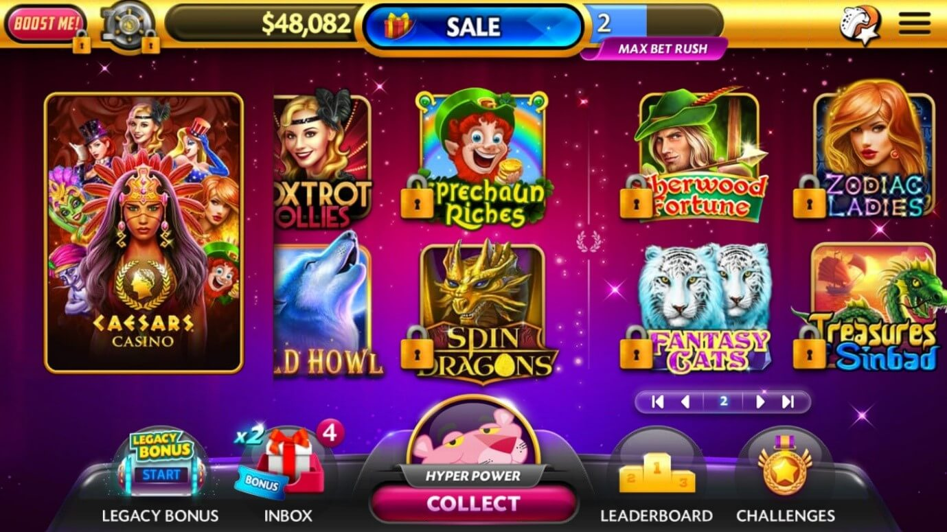 Caesars Online Casino Review